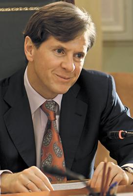 Андрей Бородин - президент Банка Москвы