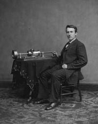 Томас Эдисон - амеркианский изобретатель