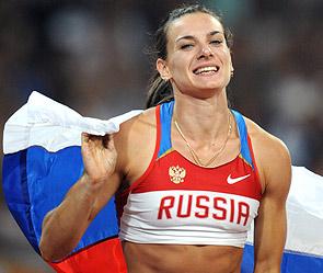 Елена Исинбаева – олимпийская чемпионка